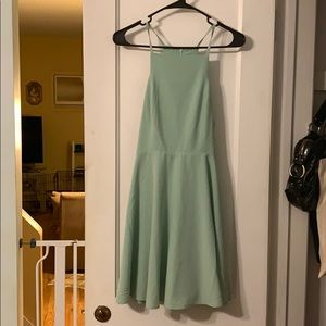 Lulus skater dress mint green size L